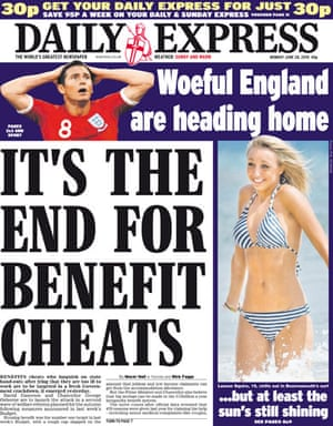 World Cup front pages: Daily Express