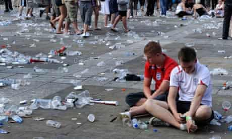 England fans react to England losing