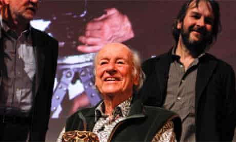 Ray Harryhausen at the BFI tribute to him