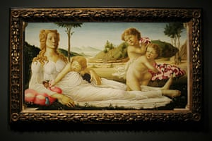Fakes National Gallery: An Allegory, a painting believed to have been created by Sandro Botticelli