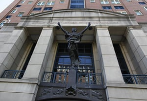 Russian spy ring: The Albert V Bryan United States courthouse in Alexandria, Virginia