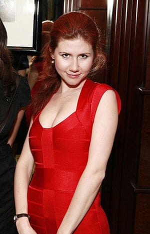 Russian spies: Suspected Russian spy Anna Chapman at the Armory Show Kick-Off Party