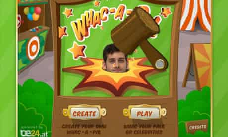 Whac-a-Pal game developed by Platogo