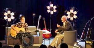 Hay festival: Kelly Jones and Bob Harris