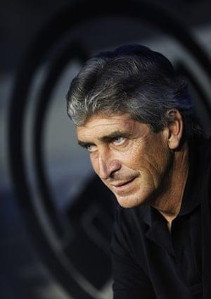 Rafa's Replacements: Real Madrid coach Manuel Pellegrini