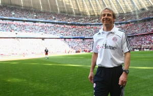 Rafa's Replacements: Bayern Munich head coach Juergen Klinsmann