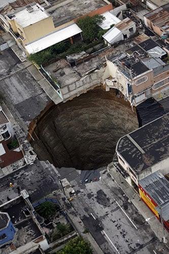 Guatemala Sinkhole Today 2013