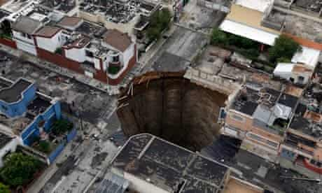 Guatemala City residents fearful after factory disappears into ...