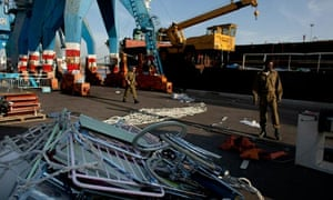 Humanitarian aid seized from peace flotilla stored at ashdod port