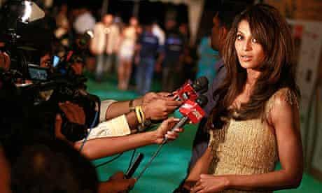 Bollywood actress Bipasha Basu in Sri Lanka