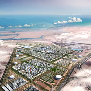 Norman Foster : Masterplan for Masdar City in Abu Dhabi