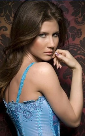 Russian secret agents: A Facebook page shows a woman journalist identified as Anna Chapman