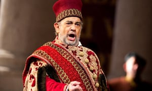 Placido Domingo in Simon Boccanegra by Giuseppe Verdi at the Royal Opera House