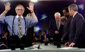Larry King retires: 2000: Larry King 2000 presidential debate
