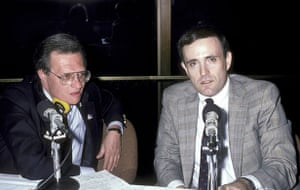 Larry King retires: 1986: Larry King and Rudolph Giuliani