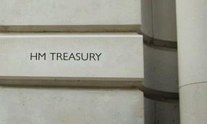 The Treasury in London.