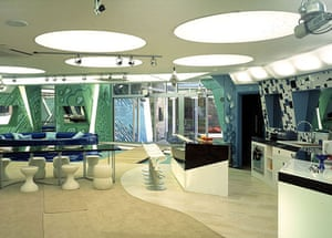 Big Brother house: Big Brother 5: the living room and kitchen