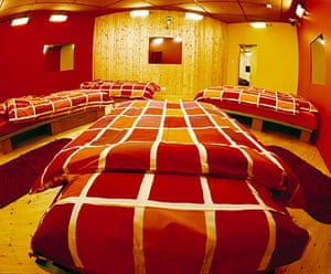 Big Brother house: Big Brother 2001: A bedroom
