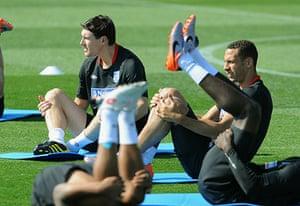 England training: England Training & Press Conference