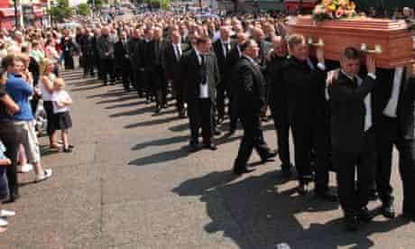 funeral of Bobby Moffett