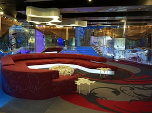 Big Brother 11 House : The living room in the new Big Brother 11 house