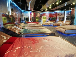 Big Brother 11 House : The bedroom in the new Big Brother 11 house