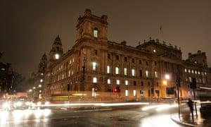 Treasury, Whitehall, London
