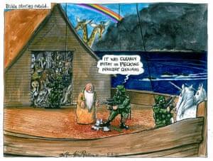 04.06.10: Martin Rowson on the Gaza flotilla attack