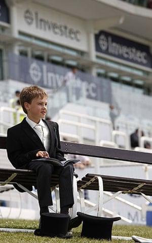 Epsom Derby 2010: Young gentleman