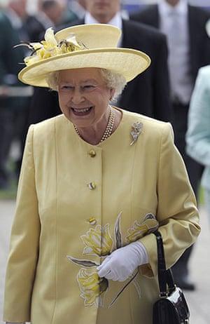 Epsom Derby 2010: Queen Elizabeth II