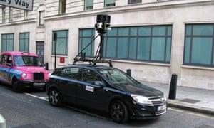 google street view map london