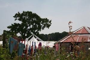 Hay festival: Hay skyline