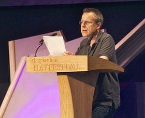 Hay festival: Jeremy Hardy on Israel