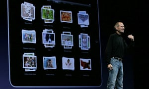 Steve Jobs delivers the opening keynote address at the 2010 Apple World Wide Developers conference