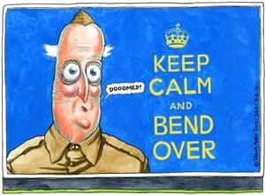 08.06.10: Steve Bell on David Cameron's warning over national debt