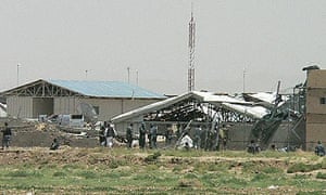 Suicide bomb attack at Kandahar police training centre