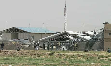 Suicide bomb attack at Kandahar police training centre