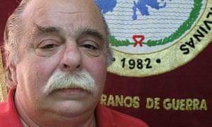 Falklands veteran Juan Carlos Ianuzzo