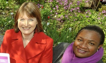Harriet Harman and Diane Abbott.