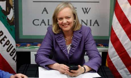 Former eBay chief Meg Whitman has said she is willing to spend $150m on her campaign