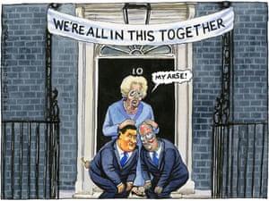 09.06.10: Steve Bell on Margaret Thatcher's visit to Downing Street