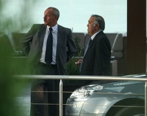 Bilderberg attendees: Captains of industry, or a pair of chauffeurs?