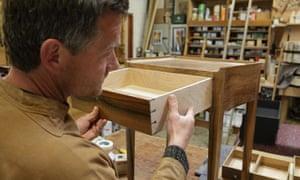 Furniture maker James Winby.