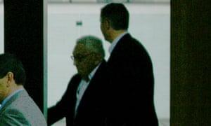 Dr Henry Kissinger at Bilderberg 2010.