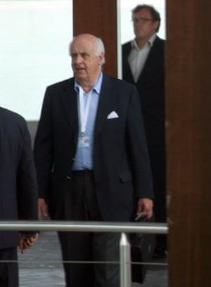 Bilderberg power gallery: Viscount Étienne Davignon, president of the Bilderberg Steering committee