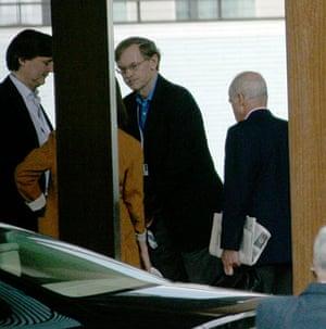 Bilderberg power gallery: John Micklethwait and Robert Zoellick