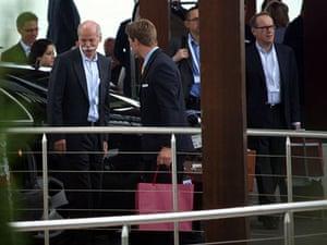 Bilderberg power gallery: Jyrki Katainen, Dieter Zetsche and Jorma Ollila