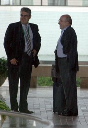 Bilderberg power gallery: Joaquìn Almunia, European Commissioner (right).