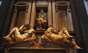 Medici tomb sculptures