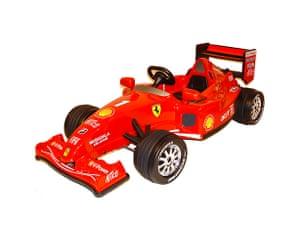 Top Christmas Toys: Ferrari F1 ride-on toy